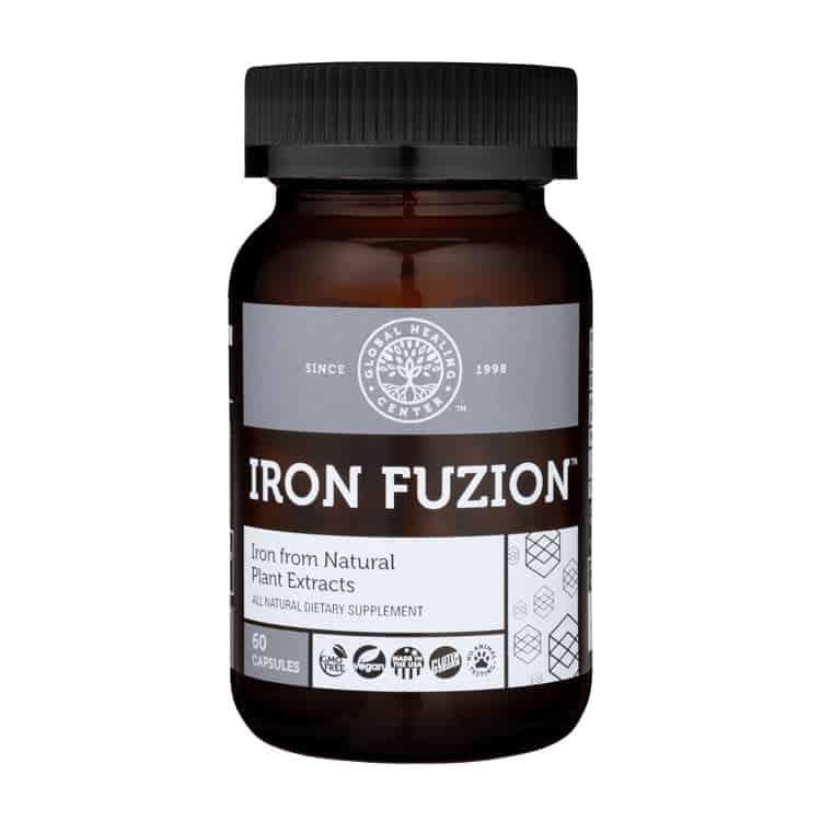 Plant-Based Iron Supplement - Natural & Vegan Friendly