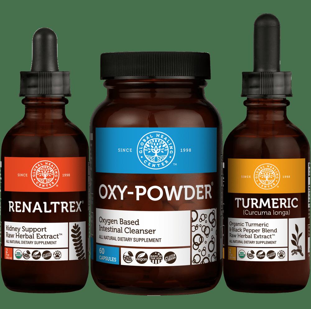 Kidney Cleanse Kit - Vegan Kidney Detox & Support w/Probiotics
